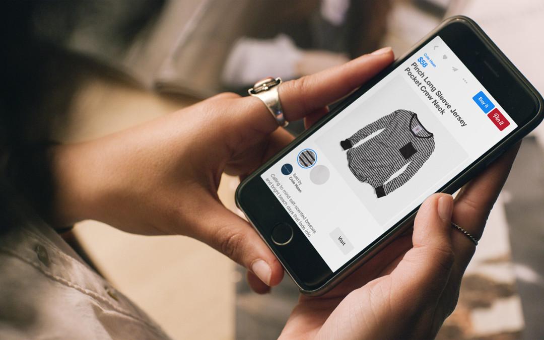 Instagram en Pinterest introduceren koopknop