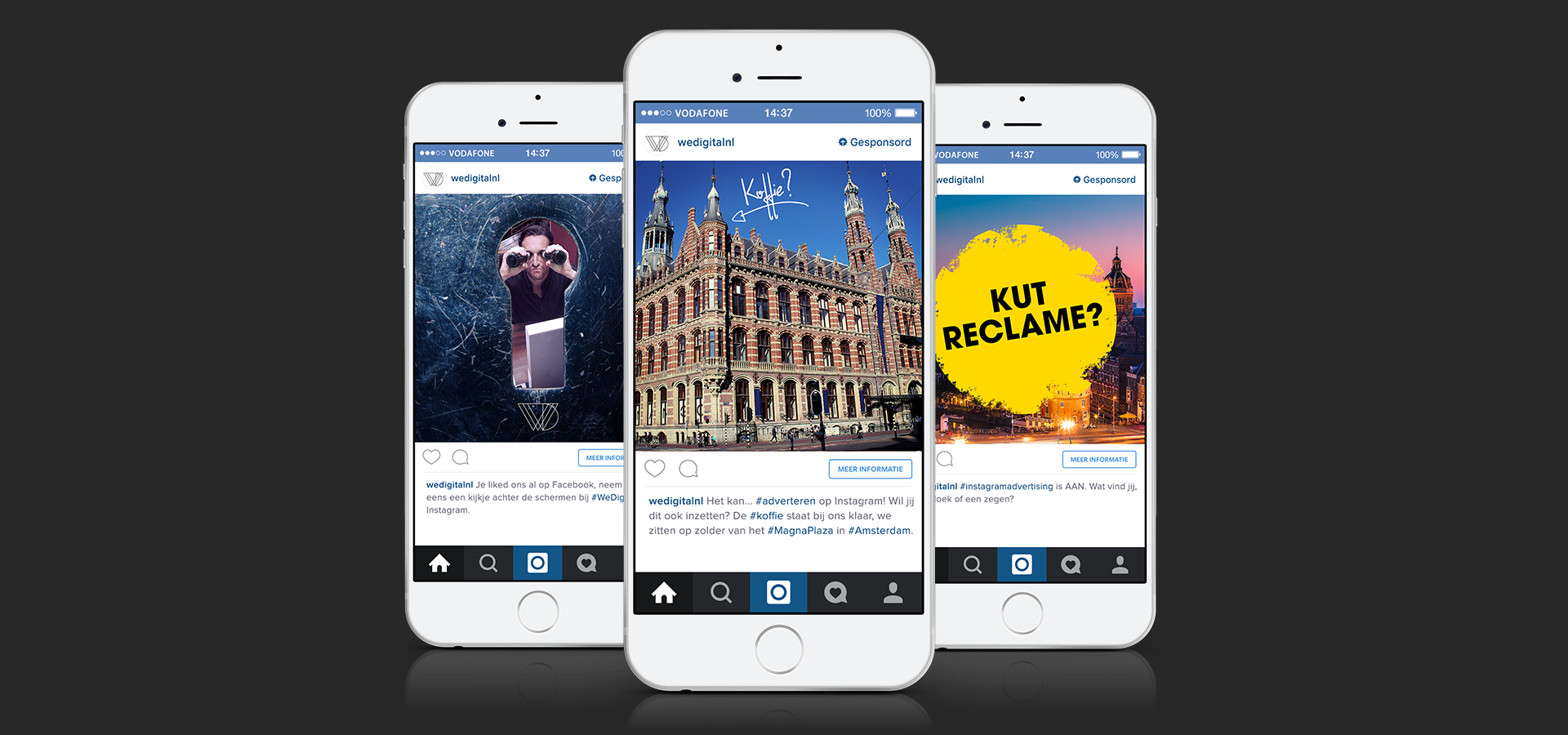 Instagram advertenties WeDigital