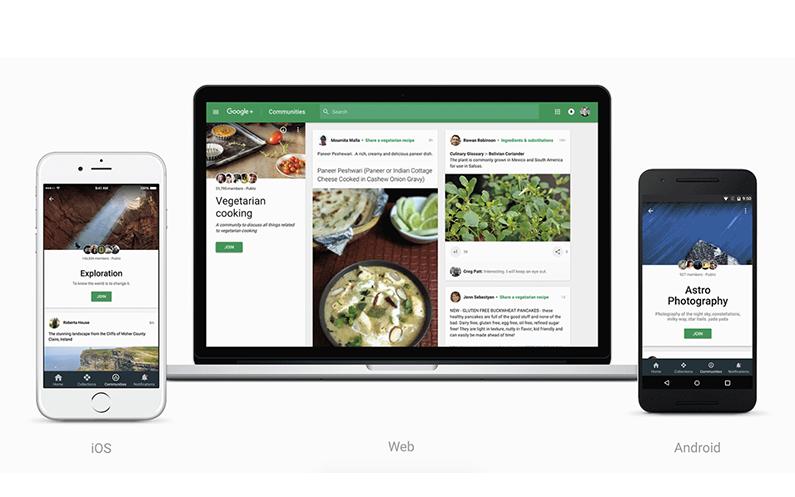 Google+ krijgt redesign