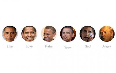 Inhakers op Facebook reactions