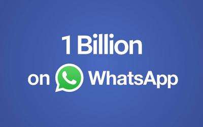 Hoera Whatsapp heeft 1 miljard gebruikers! En nu?