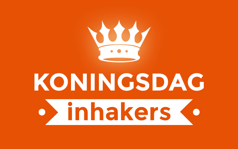 Inhakers op Koningsdag
