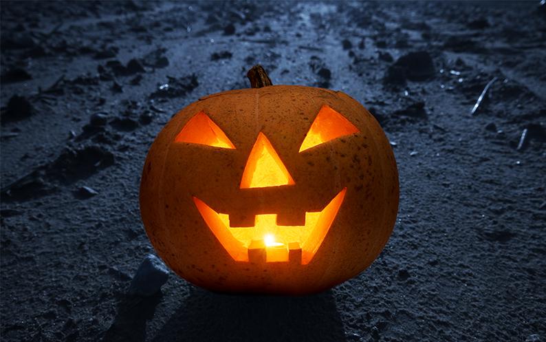 Inhakers op Halloween