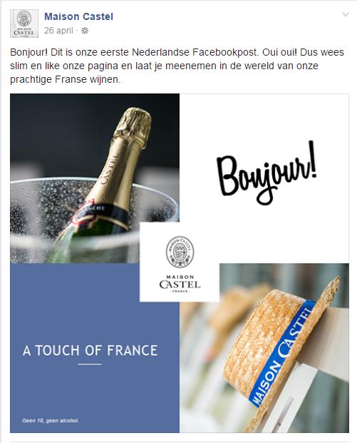 WeDigital_Maison_Castel_Social_Media_Case_Launch