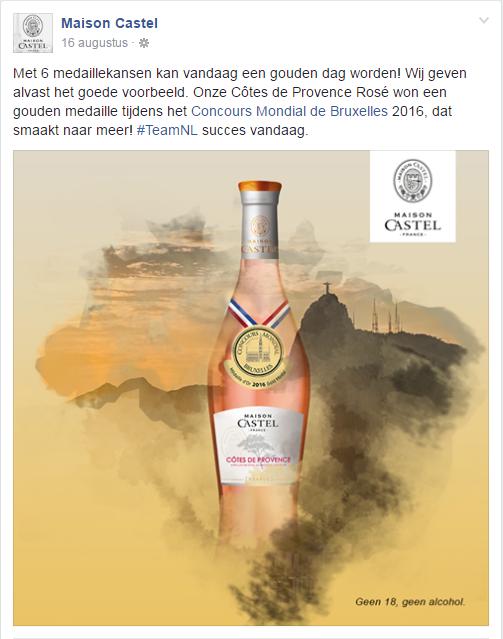 Maison Castel Goud Olympische Spelen