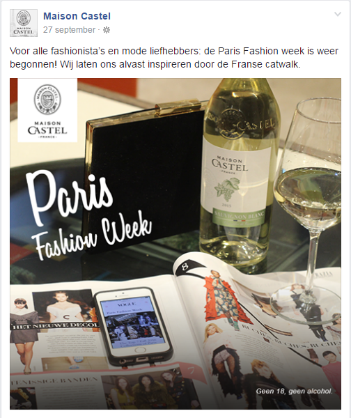Maison Castel Paris Fashion Week
