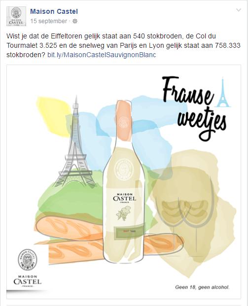 Franse Weetjes Eiffeltoren