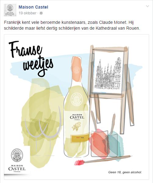 Franse Weetjes Claude Monet