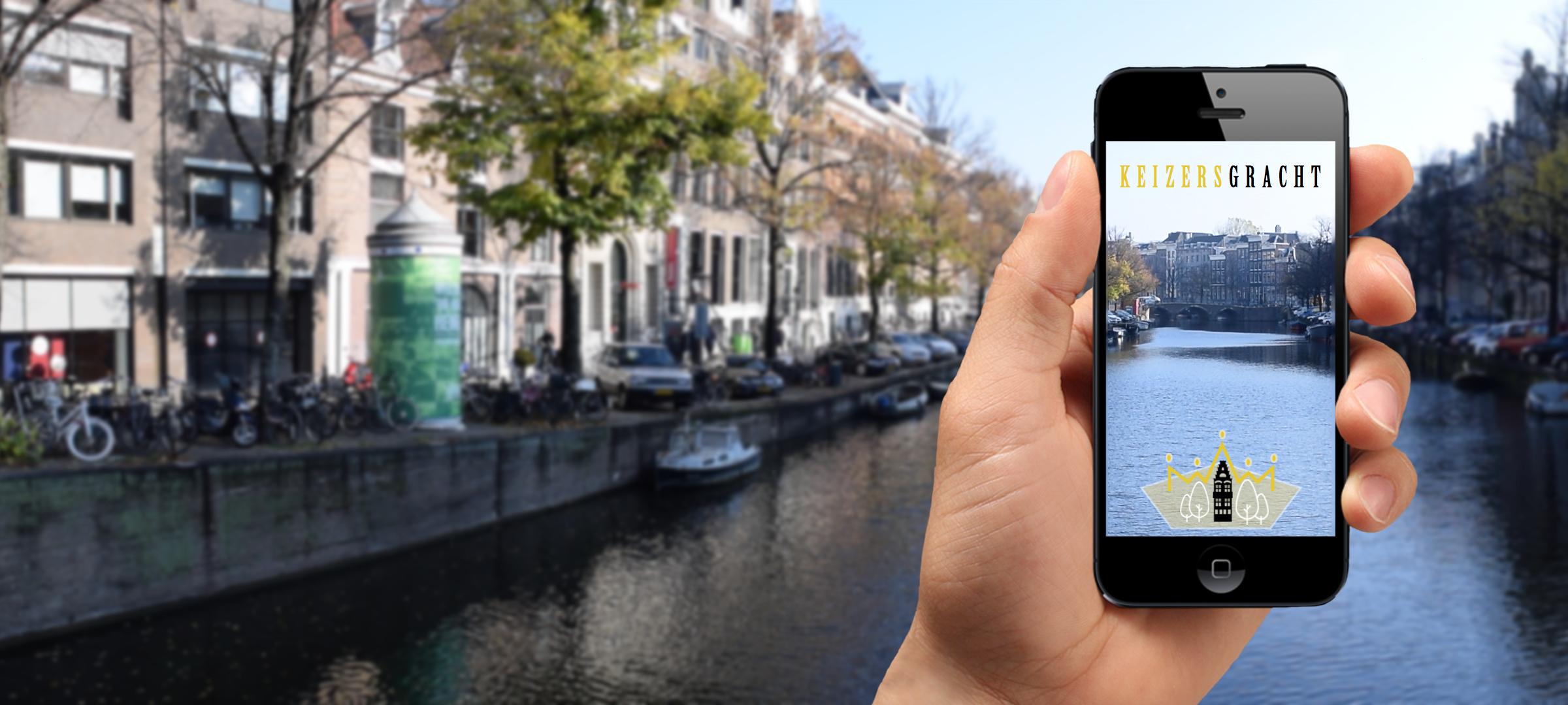 Snapchat Geofilter Keizersgracht
