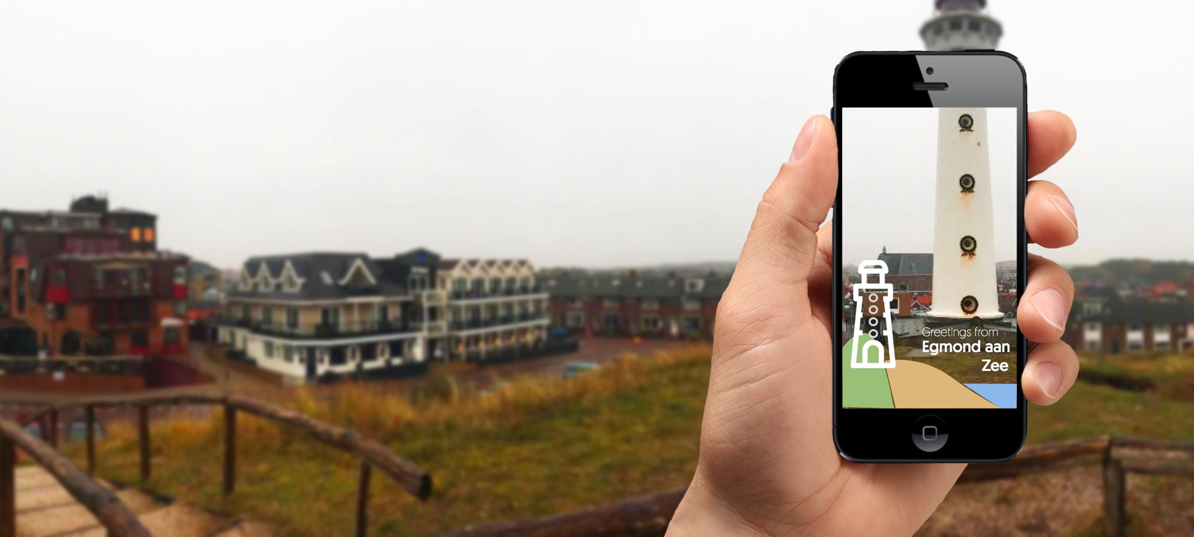 Snapchat Geofilter Egmond aan Zee