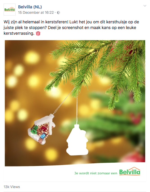 Kerst inhaker Belvilla