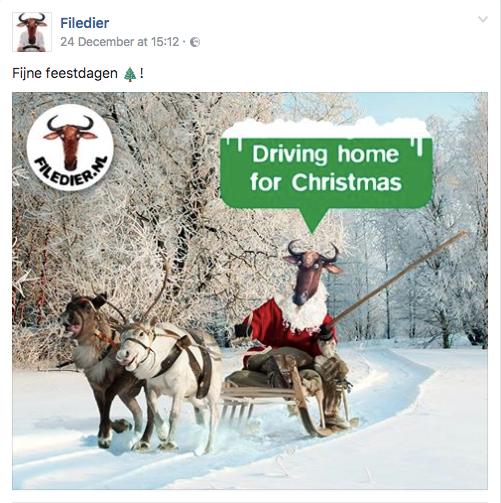 Kerst inhaker Filedier