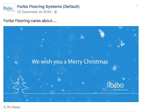 Kerst inhaker Forbo