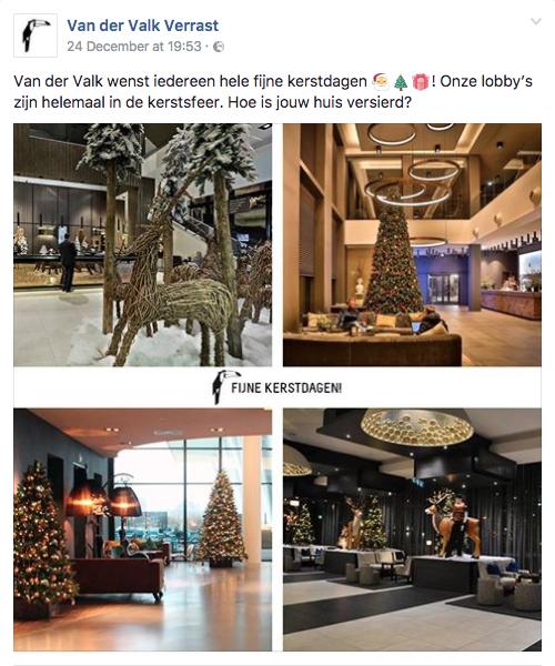 Kerst inhaker Van der Valk Verrast
