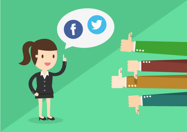 Advies over social media