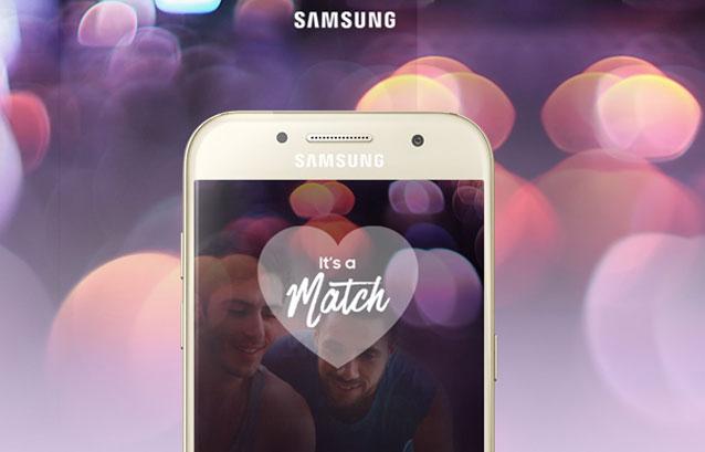 Campagne van Samsung voor Valentijn 2017