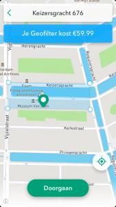 Snapchat geofilter maken locatie