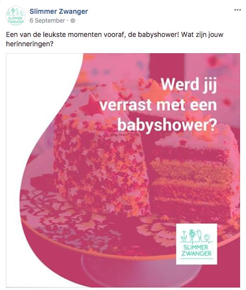 Werd jij verrast met een babyshower?