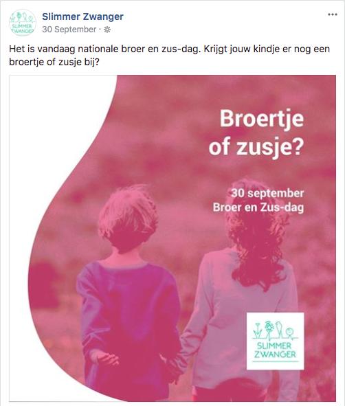 Broertje of zusje?