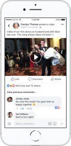 Lip Sync voorbeeld Facebook