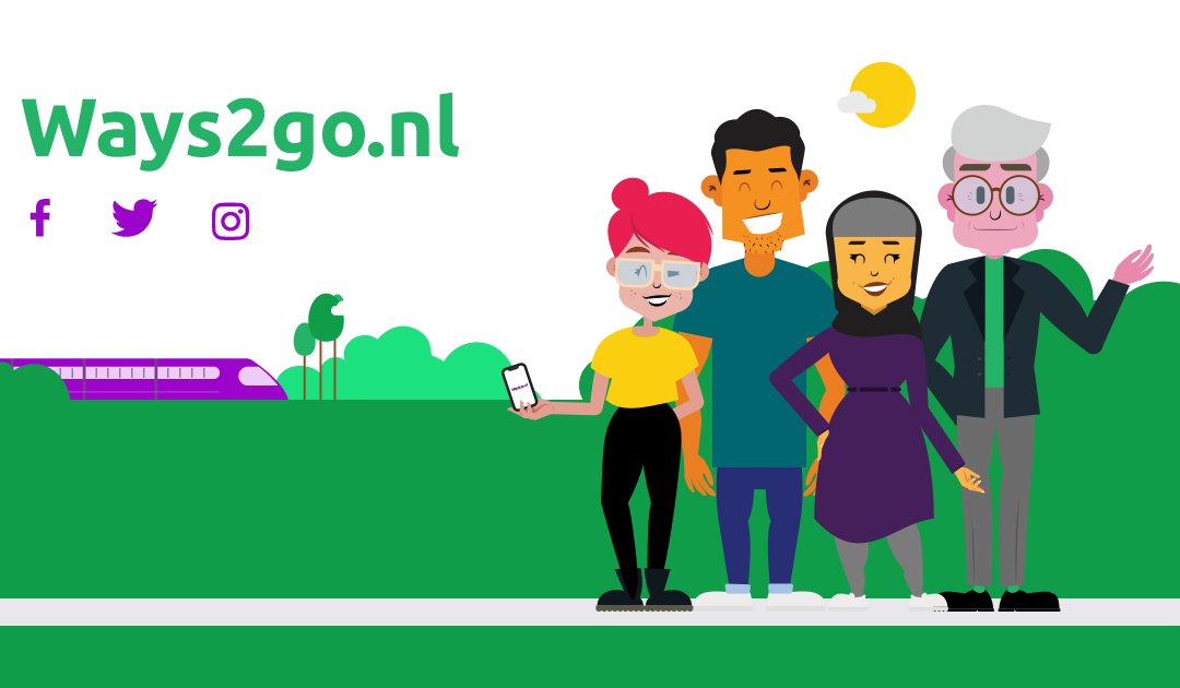 WeDigital maakt nieuwe campagne gericht op duurzaam reizen in Zuid-Holland: Ways2go