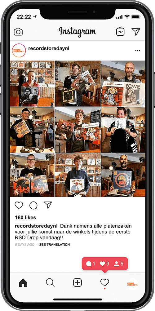 WeDigital_Record_Store_Day_Case_Instagram