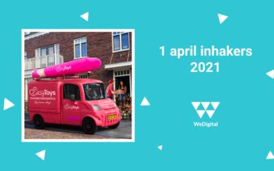 1 april… Ook in 2021 kikkers in je bil!